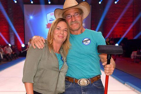 Manuela Reimann mit Konny Reimann
