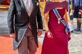Die Looks der Royals: Königin Maxima mit König Willem