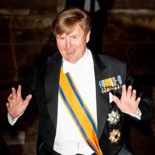 König Willem-Alexander in neuem Look