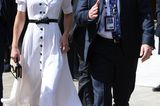 Meghan Markle + Herzogin Kate: Kate Middleton im weissen Kleid