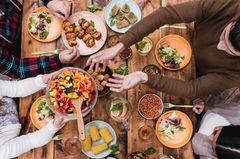 Rattenlungenwurm: Tisch voll mit Essen