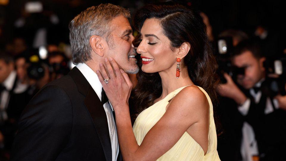 George Clooney und Amal Clooney: Große Liebe
