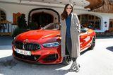 Excellence Club 2019: Nilam Farooq mit BMW-Shuttle