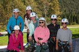 Excellence Club 2019: Ladys beim Klettern