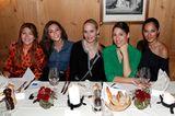 Excellence Club 2019: Sedef Aygün, Nazan Eckes, Anne Meyer-Minnemann, Jasmin Gerat und Nilam Farooq