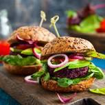 Vegane Ernärung: vegane Burger