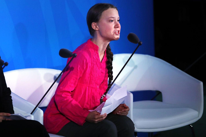 Greta Thunberg hält Wutrede vor UN