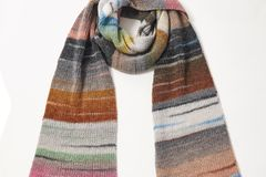 BRIGITTE Wollpakete 2019: Multicolorschal