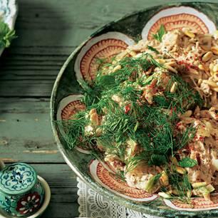 Hähnchensalat (Katmis Salata)