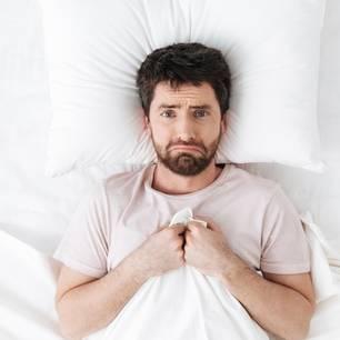 Männer-Periode: Mann der weint