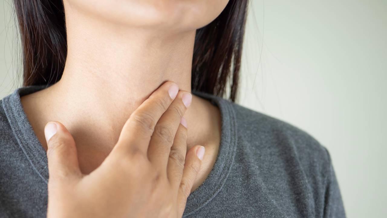 kehlkopfentzündung symptome frau