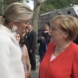 Merkel trifft Maxima