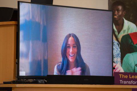 Meghan Markle: Zuckersüßer Skype-Auftritt mit Baby Archie
