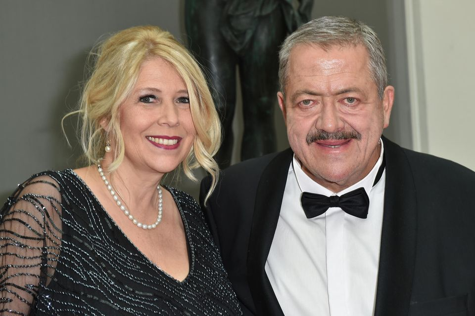 Joseph Hannesschlaeger and und seine Ehefrau Bettina Hannesschlaeger