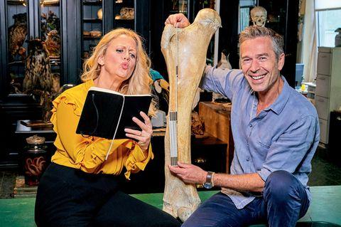 Dirk Steffens: Maßnahmen zum Schutz der Umwelt: Barbara Schöneberger und Dirk Steffens