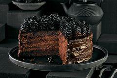 Schokoladen-Brombeer-Torte