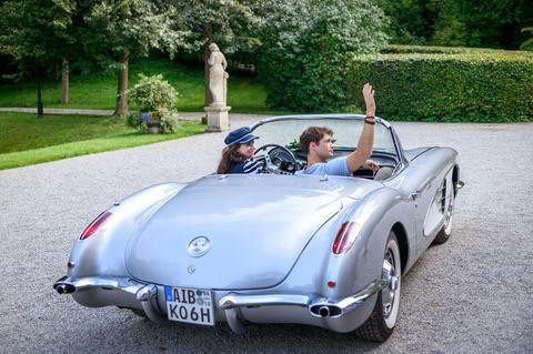 """""""Sturm der Liebe"""": Joshua und Denise nehmen Abschied vom Fürstenhof"""
