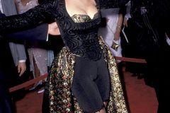 Promikleider: Demi Moore auf dem roten Teppich