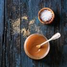 Karamell selber machen: Karamell in einem Glas