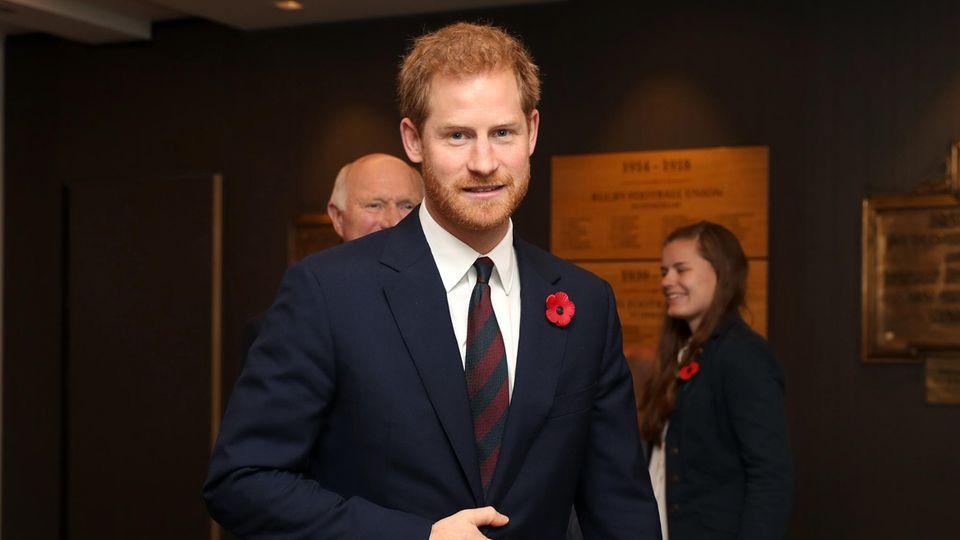 Prinz Harry beschimpft Reporter