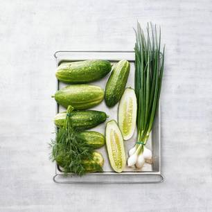 Gurken-Rezepte: Schmorgurken