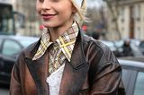 Winter-Frisuren: Caro Daur mit Stirnband