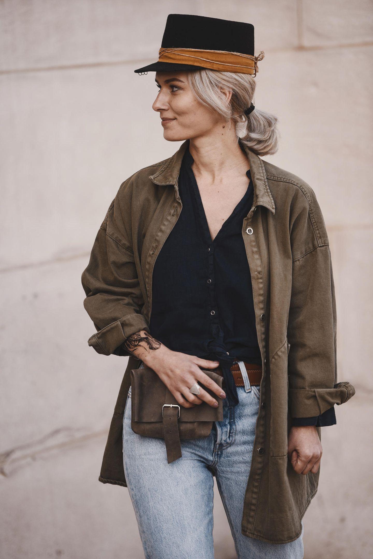 Winter-Frisuren: Frau mit Hut