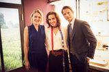 Promi-Events: Victoria Jancke mit Mathilde und Bertrans Thomas