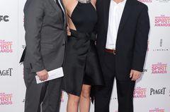 Geschwister der Stars: Jennifer Lawrence posiert mit ihren Brüdern