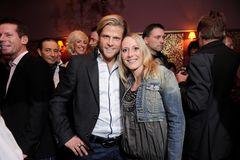 Geschwister der Stars: Paul Janke zusammen mit seiner Schwester