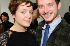 Geschwister der Stars: Elijah Wood posiert mit seiner Schwester