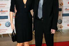 Geschwister der Stars: Veronica Ferres mit ihrem Bruder auf dem roten Teppich