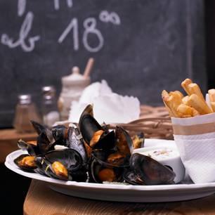 Belgische Rezepte: Miesmuscheln mit Remoulade