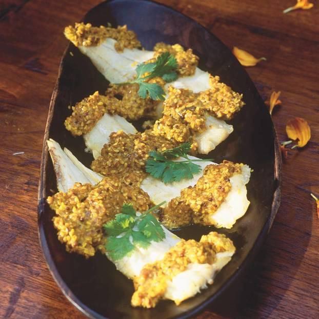 Sesamfisch mit Tamarindenpaste