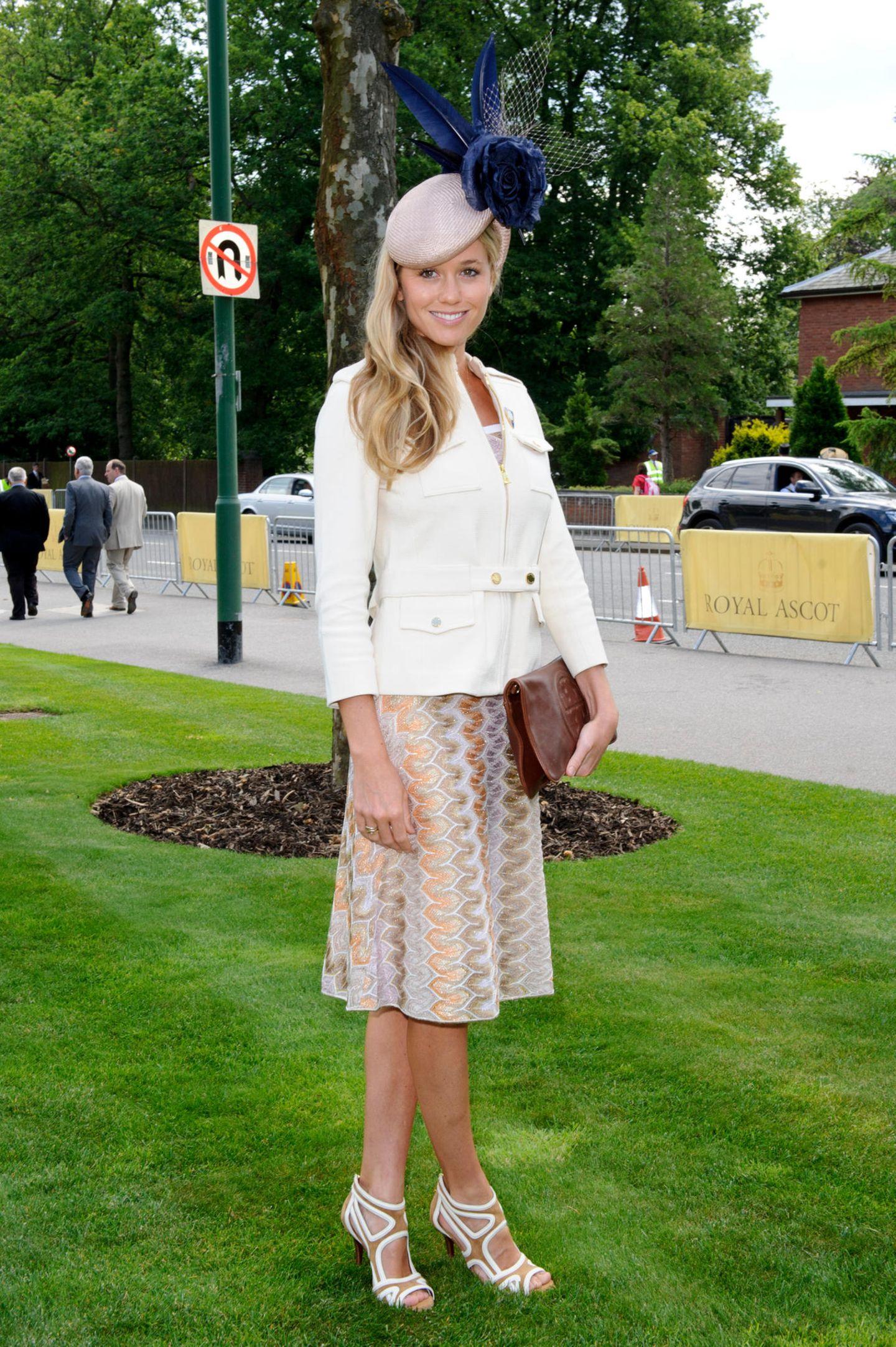 Prinz Harrys Ex-Freundinnen: Florence Brudenell-Bruce mit Hut