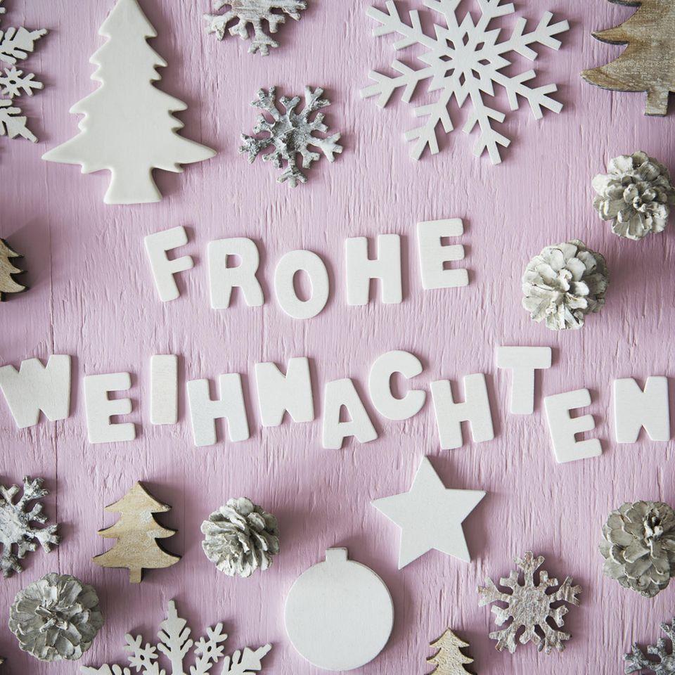 Sprüche zu Weihnachten: Spruch Frohe Weihnachten