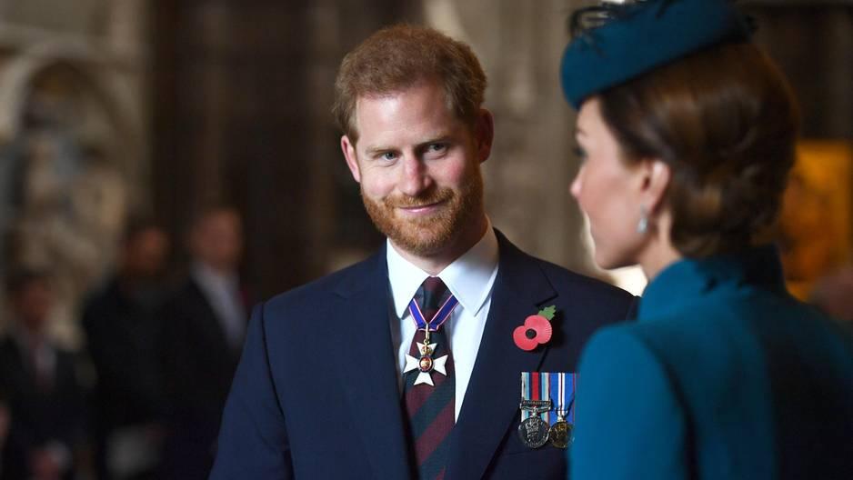 Prinz Harry und Kate Middleton
