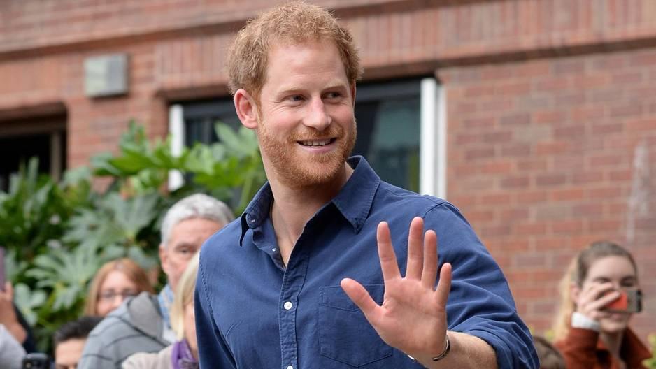 Prinz Harry: Bewegende Überraschung für 14-Jährige!
