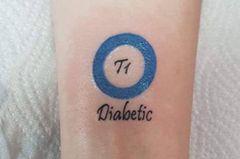 Tattoo rettet Leben: Foto des Tattoos