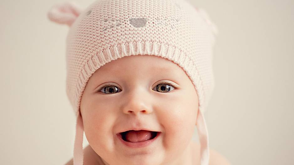 Ikea-Babynamen: Baby mit Mütze