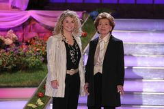 Beatrice Egli: Zwei Frauen auf der Bühne