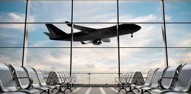 Flug stornieren - Flugzeug hebt ab