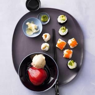 Dreierlei Sushi