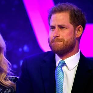 Prinz Harry kämpft mit den Tränen