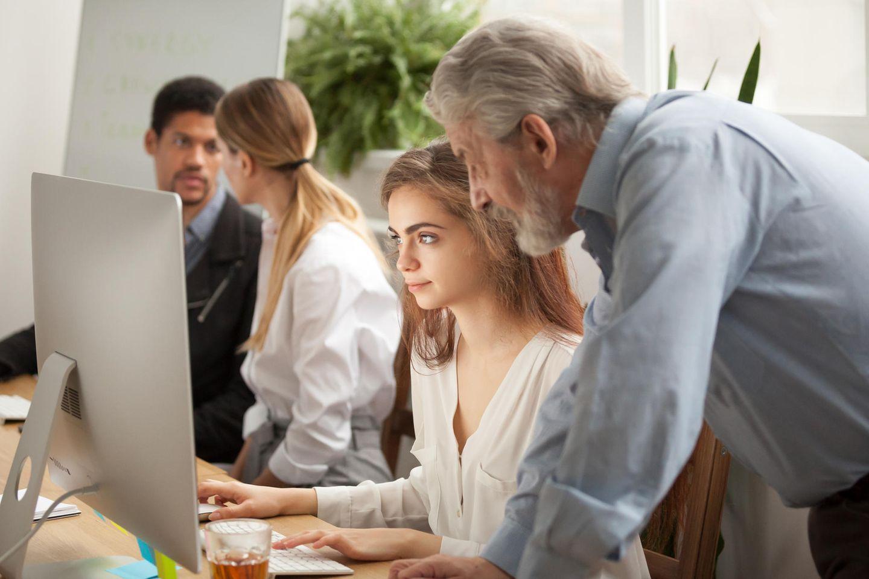 Einschlägige Berufserfahrung: Arbeiten im Team