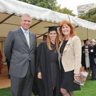 Prinz Andrew teilt ein Familienfoto