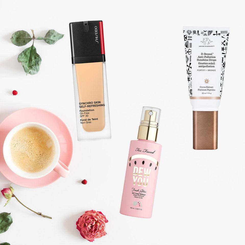 Wach aussehen: Beautyprodukte