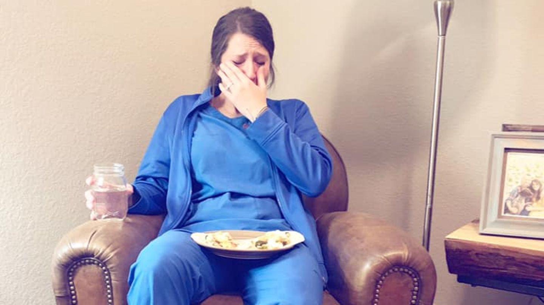 Facebook: Krankenschwestern - dieses Foto zeigt, wie hart