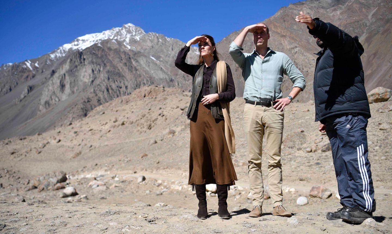 Herzogin Kate + Prinz William: im Hindukusch Gebirge