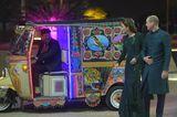 Herzogin Kate + Prinz William: vor einer Auto-Rikscha